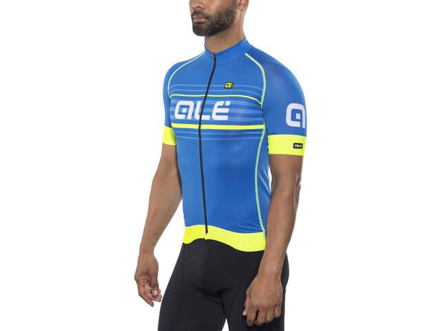 Alé Cycling Graphics PRR Salita - Maillot manches courtes Homme - jaune/bleu
